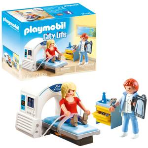 Playmobil City Life Hospital MRI Scanner with Doctor and Patient (70196)