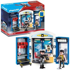 Playmobil Police Station Play Box (70306)