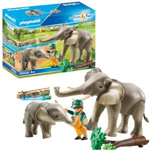 Playmobil Family Fun Elephant Habitat (70324)
