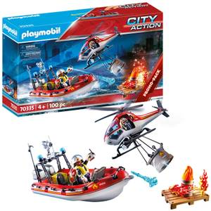 Playmobil City Action Promo Fire Rescue Mission (70335)