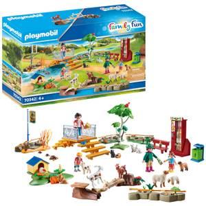 Playmobil Family Fun Petting Zoo (70342)