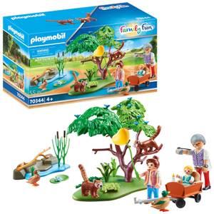 Playmobil Family Fun Red Panda Habitat (70344)