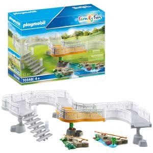 Playmobil Family Fun Zoo Viewing Platform Extension (70348)