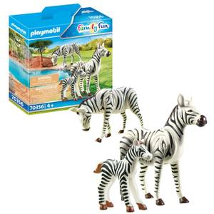 Playmobil Family Fun Zebras with Foal (70356)