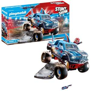 Playmobil Stunt Show Shark Monster Truck (70550)