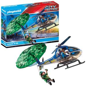 Playmobil City Action Police Parachute Search (70569)