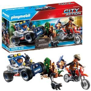 Playmobil City Action Polizei-Geländewagen mit Juwelendieb (70570)
