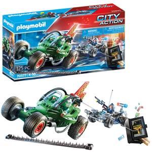 Playmobil City Action Police Go-Kart Escape (70577)