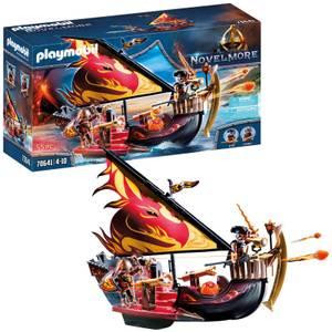 Playmobil Novelmore Knights Burnham Raiders Fire Ship (70641)
