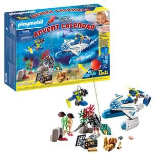 Playmobil Advent Calendar - Police Dive (70776)