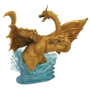 Diamond Select Godzilla Gallery PVC Figure - King Ghidorah (1991)