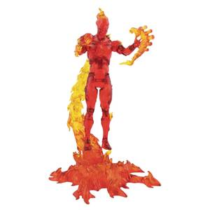 Diamond Select Marvel Select Human Torch Action Figure