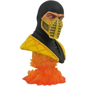 Diamond Select Mortal Kombat 11 Legends In 3D 1/2 Scale Bust - Scorpion