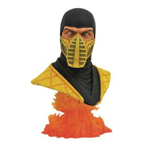 Diamond Select Mortal Kombat 11 Legends In 3D 1/2 Scale Bust - Scorpion
