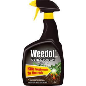 Weedol Gun! Ultra Tough Ready To Use Weedkiller - 1L