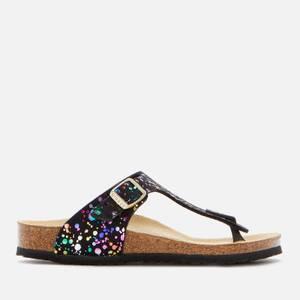 Birkenstock Gizeh Kids' Sandals - Confetti Black
