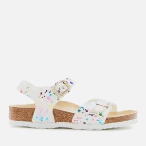 Birkenstock Rio Kids' Sandals - Confetti White