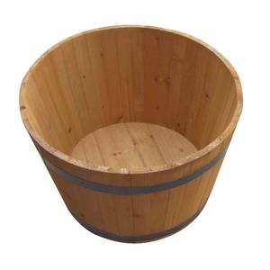 Half Whiskey Wooden Barrel