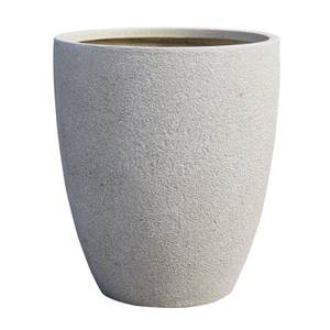 Niall Cup Planter in Sand - 43cm