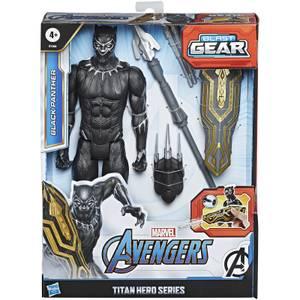 Hasbro Marvel Avengers Titan Hero Series - Blast Gear Black Panther Action Figure
