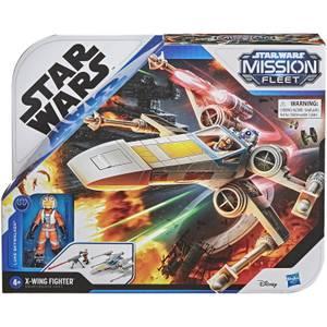 Hasbro Star Wars Mission Fleet Luke Skywalker X-wing Fighter Action Figure