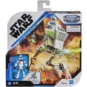 Hasbro Star Wars Mission Fleet Captain Rex Clone Action Figure