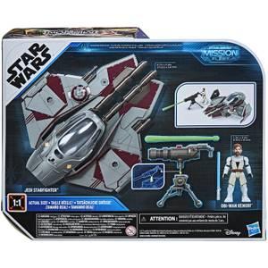 Hasbro Star Wars Mission Fleet Obi-Wan Kenobi Jedi Starfighter Action Figure