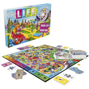 Hasbro Game of Life Board Game - Classic Edition