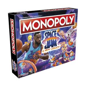 Monopoly Board Game - Space Jam Edition
