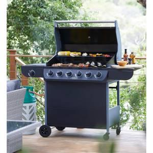 Texas Nimbus 6 Burner Gas BBQ