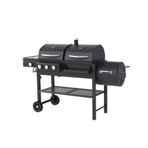 Texas Dual Fuel With Smoker BBQ