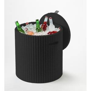 Keter Ice Bucket Cool Stool - Graphite