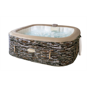 CleverSpa Sorrento Slate Print Hot Tub