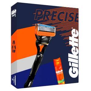 Gillette Fusion5 Rasierset mit Rasiergel