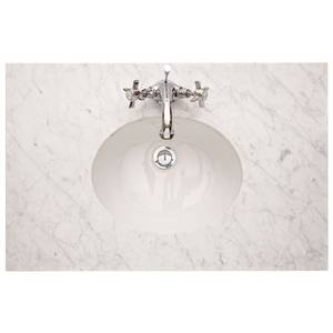 Savoy Old English White 790mm Worktop with Basin