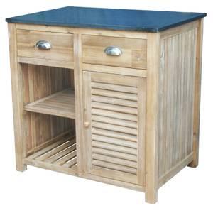 Hartington Wooden BBQ Outdoor Kitchen - Preparation Cabinet