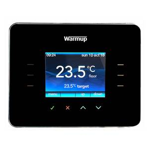 3IE Touchscreen thermostat - black