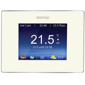4IE Touchscreen WiFi Thermostat - White