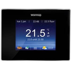 4IE Touchscreen wifi thermostat - black