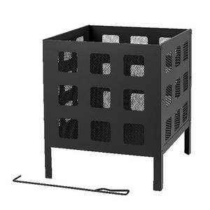 Texas 45cm Square Fire Cube
