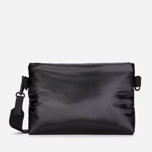 RAINS Men's Padded Pouch - Shiny Black