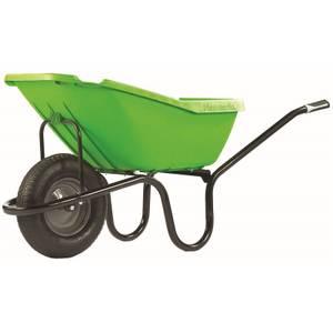Haemmerlin 5200 Pick Up Pneumatic Green Wheelbarrow (110L)