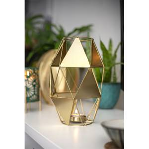 Gold Art Deco Geometric Garden Lantern