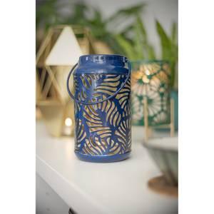 Decotropic Blue Metal Garden Lantern