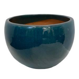 Chiswick Moon Green Terracotta Pot - 35cm