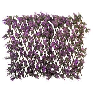 Vivid Violet Trellis 180 X 90cm