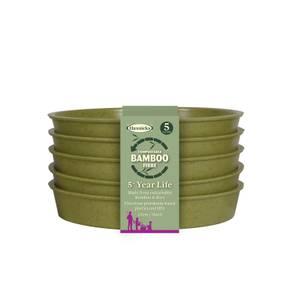 5 Bamboo Saucer - Sage Green (5 Pack)