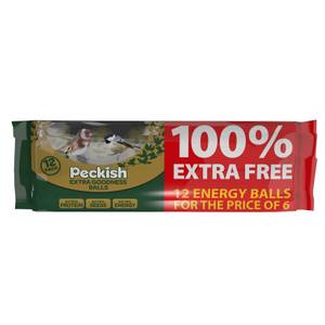 PK Extra Goodness Fat Balls 6 plus 6 FOC