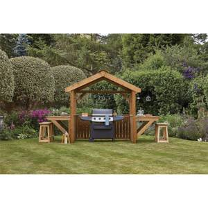Anchor Fast Milldale Party Shelter & Stools