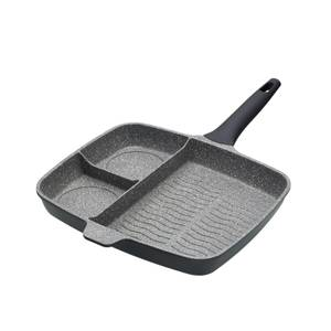MasterClass Cast Aluminium Induction-Safe Non-Stick All-in-One Frying Pan